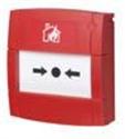 Afbeelding van MCP flush with break glass element - red